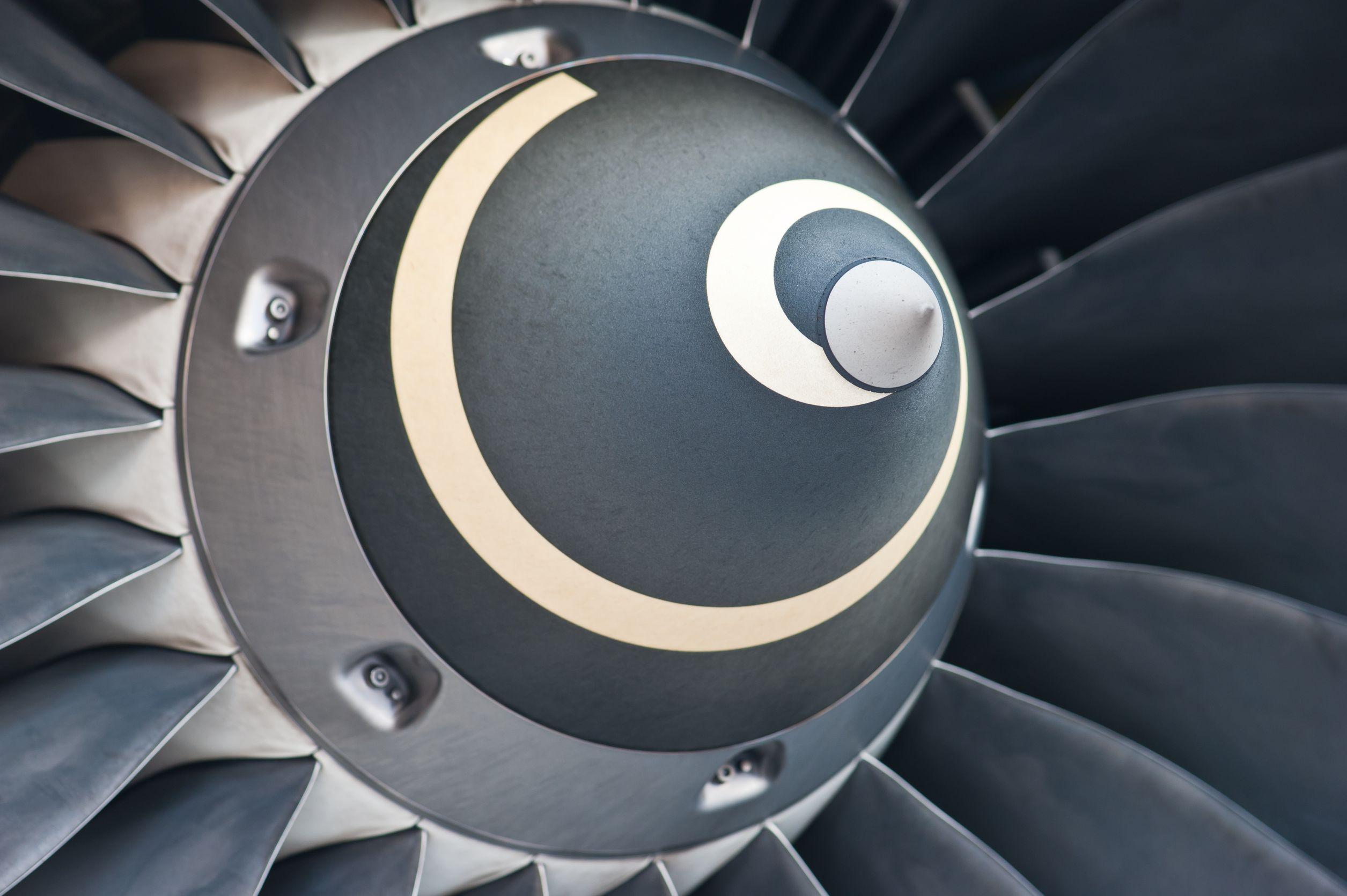 10972354 - turbine blades of an aircraft jet engine
